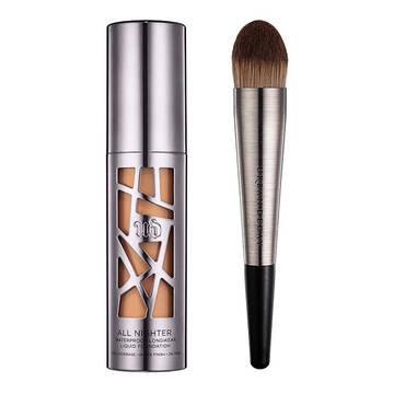All Nighter Foundation & Brush Set in color