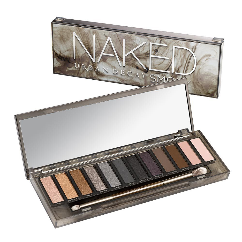 The palette is the dupe of the Urban Decay NAKED range, with the sold-out smoky palette priced at £43