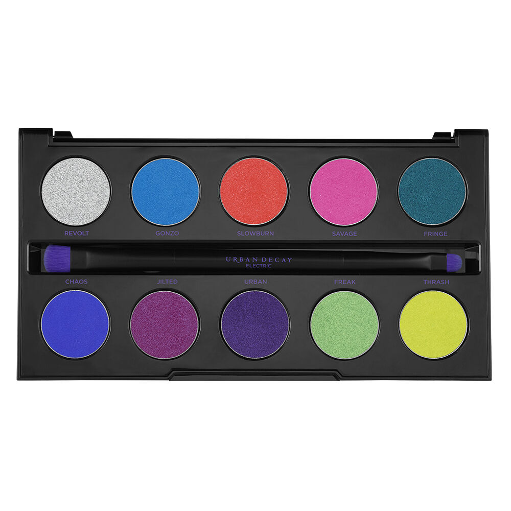 Electric Pressed Pigment Palette Bright Eyeshadow