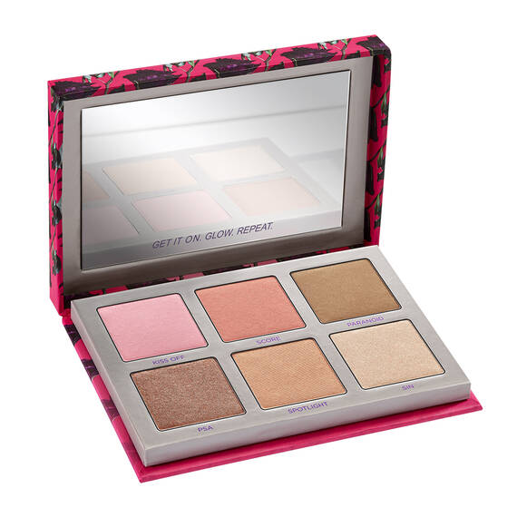 SIN AFTERGLOW HIGHLIGHTER PALETTE in color Sin Afterglow Highlighter Palette