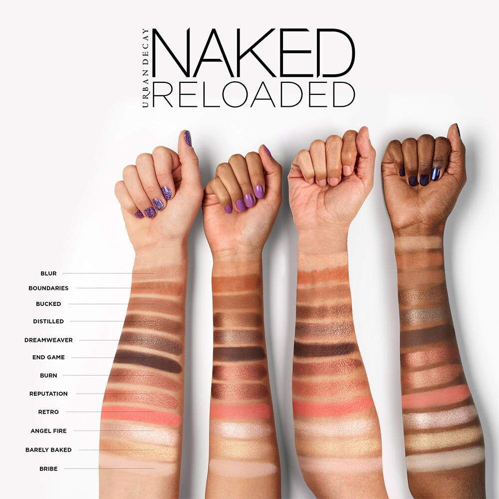 Angel Eyes Nude Pics naked reloaded eyeshadow palette 12 reloaded, universally flattering  neutrals