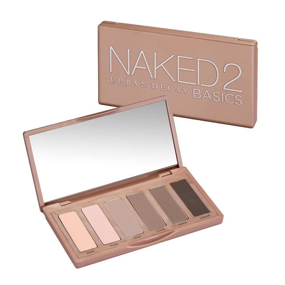 Urban Decay Naked Basics Eyeshadow Palette Review, Photos
