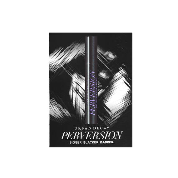 Perversion Mascara Deluxe Sample in color