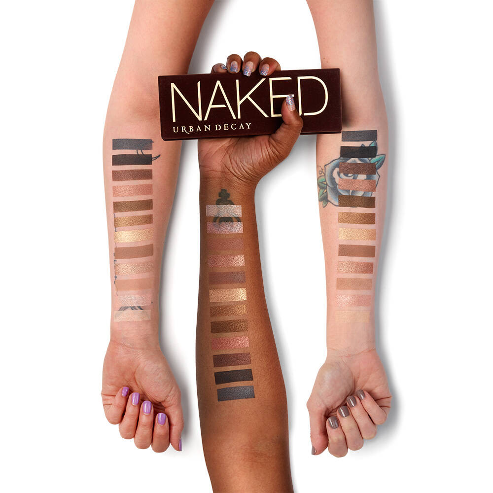 Urban Decay Naked 2 Eyeshadow Palette Review, Swatches