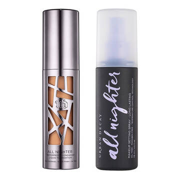 All Nighter Foundation & Setting Spray Set in color