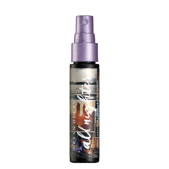 Born To Run Travel-Size All Nighter Makeup Setting Spray in color