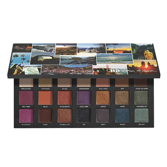 BORN TO RUN EYESHADOW PALETTE in color