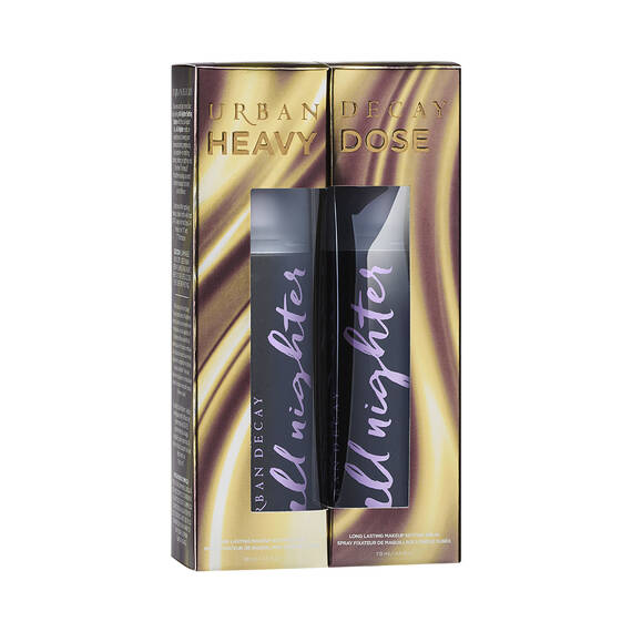Heavy Dose All Nighter Setting Spray Duo in color Set