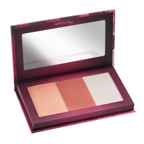 Cherry Highlighter Palette in color