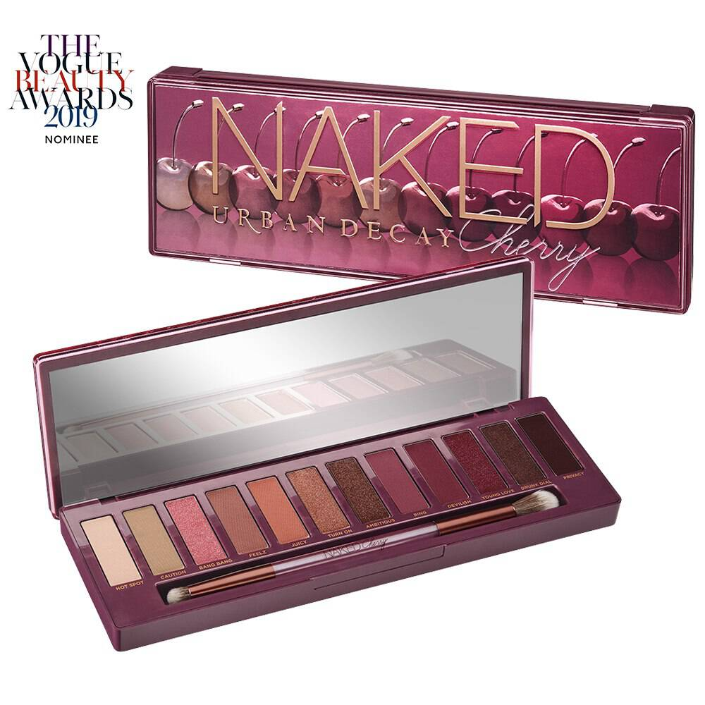 Naked Cherry Palette. Eyeshadow Palette