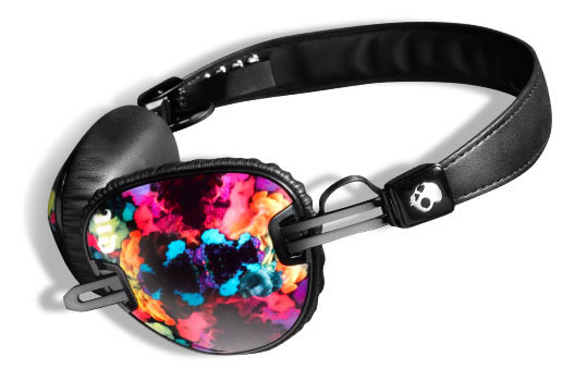 Electric Skullcandy Headphones